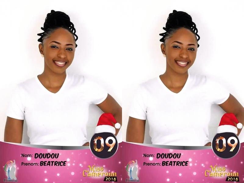 miss cameroun 2018  doudou b u00e9atrice u2026 la belle femme