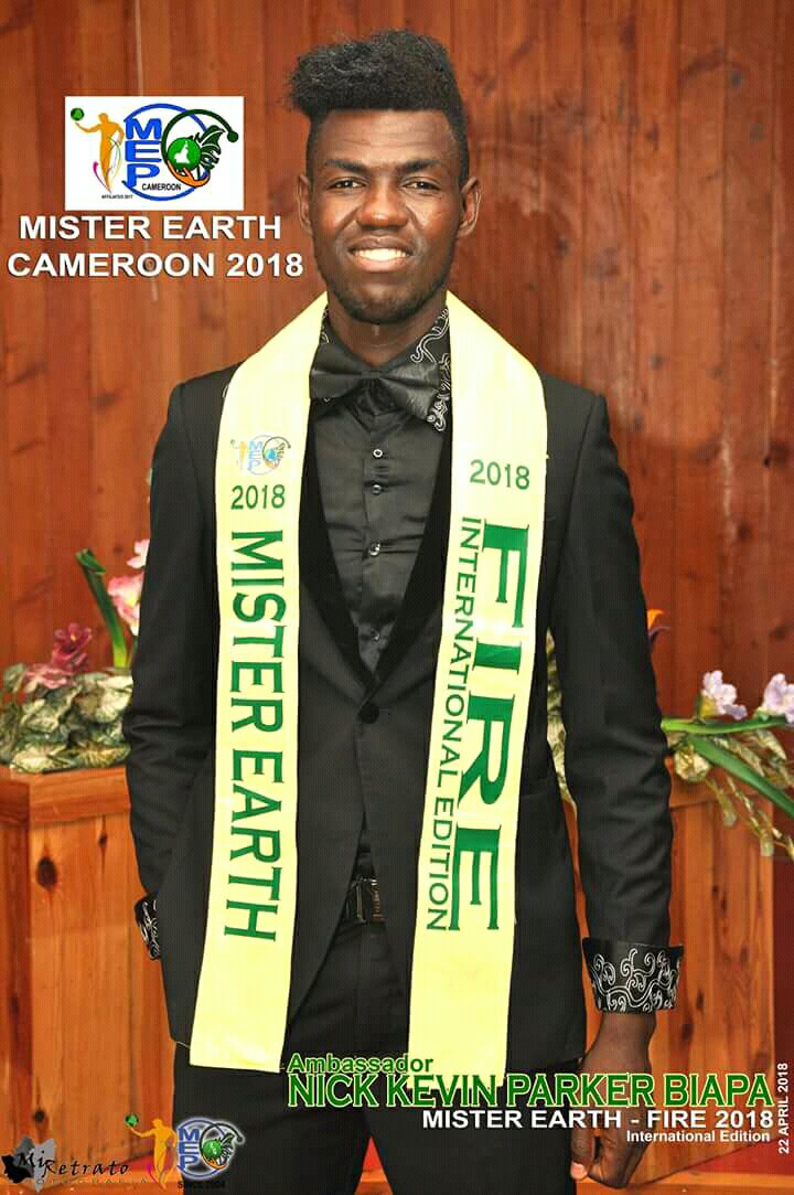 Mister Earth Cameroon 2018